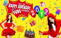 Happy Birthday Kwon Yuri