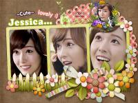 Jessica~SNSD::Cute and lovely
