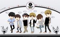 EXO M ♥ cartoon ver. calendar