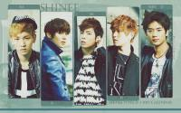 shinee: WORLD J 2013 CALENDAR