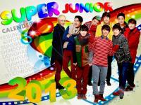 Super_Junior_Official_Calender 2013 last year