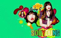 Sooyoung-SNSD-KISS BABY G