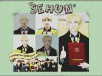 Sehun EXO :: Graduation Ceremony