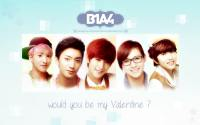 B1A4 :: Be my Valentine