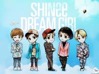SHINee :: Dream Girl Cartoon Ver.