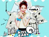 Yoona-SNSD-Caricature-BABY G{KISS}