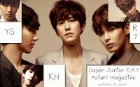 Super Junior KRY @star1 magazine