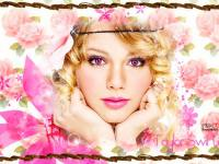 Taylor Swift::Pink Rose