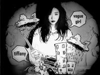 Tiffany_SNSD_Vogue girl_caricature_Megazine ver