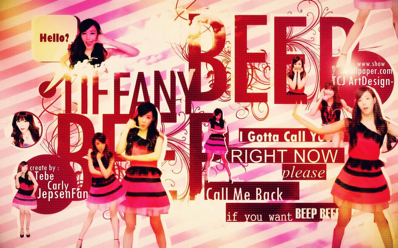 SNSD Tiffany Beep Beep MV Wallpaper
