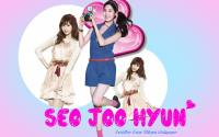Seohyun Blue And Pink