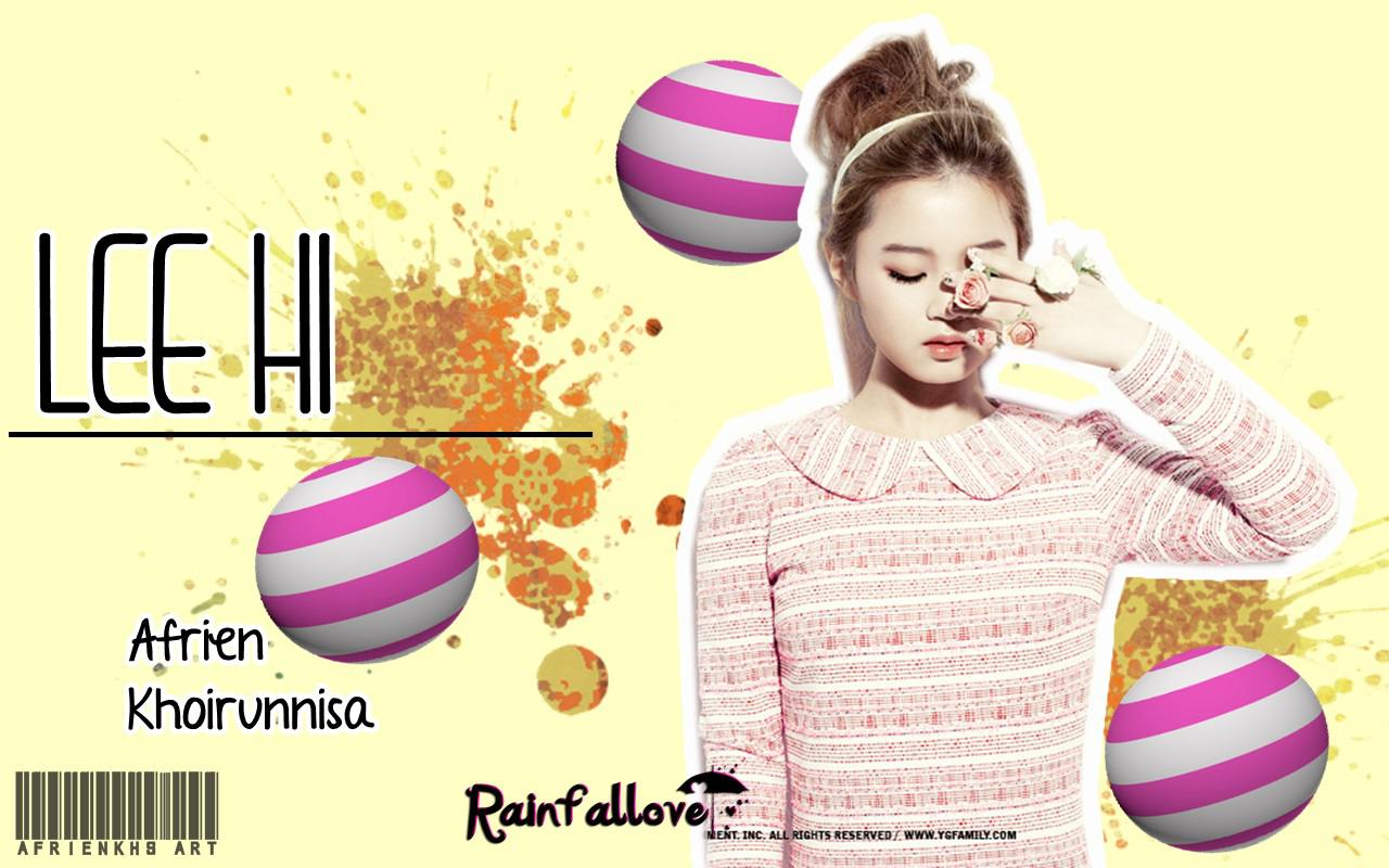 Lee Hi Wallpaper By Afrienkhs