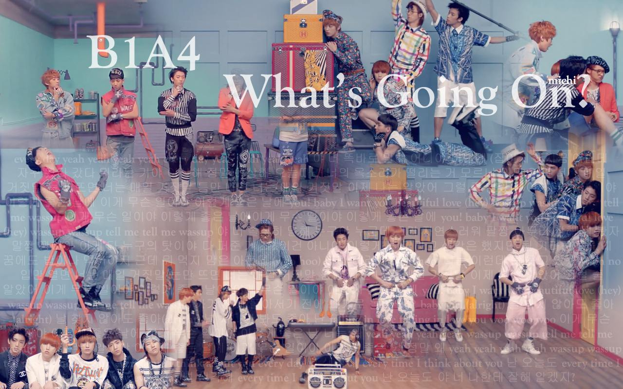 B1A4 - What's Going On? Wallpaper