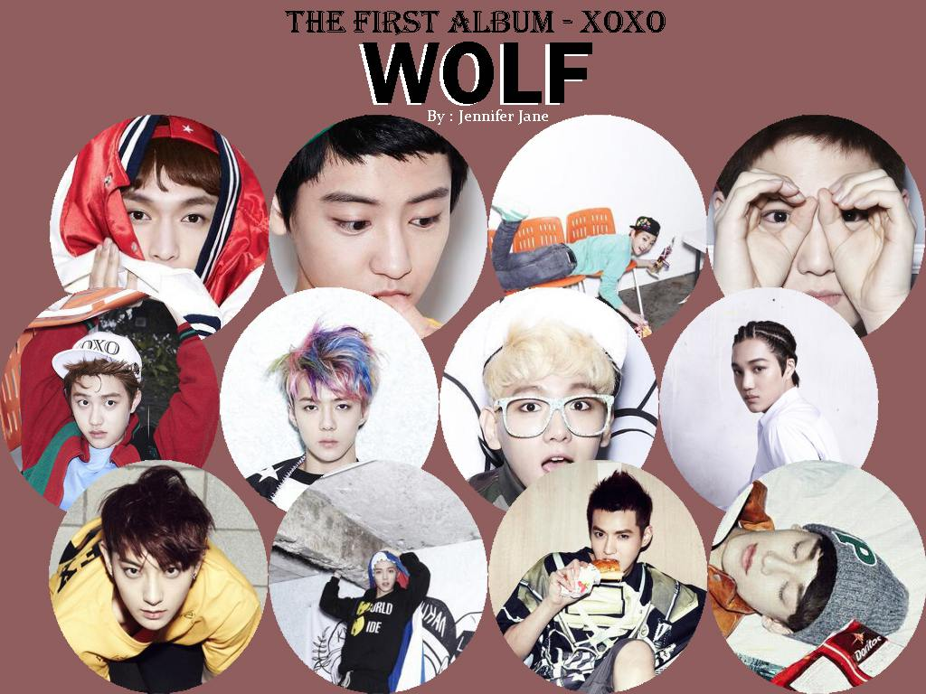 Exo Xoxo Kiss And Hug Wallpaper By Jennifer Jane
