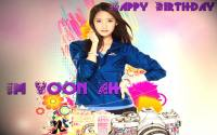 SNSD YOONA HBD + EFFECT ::W::