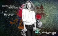 Snsd Hyoyeon Abstract Dark Night