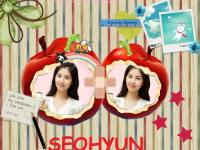 Seohyun Cute Apple