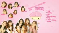 Cupcake Hugs,Kiss and Loves with APINK!