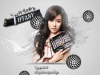 Snsd Tiffany Black And White CF