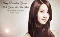 Snsd Yoona HBD 2013 Painting