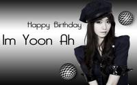 Happy Birthday YoonA Snsd