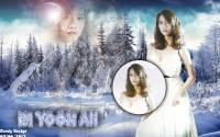 Snsd Yoona Cool At Winter snow