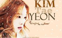 Kim Taeyeon 'Singing in the SNOW'
