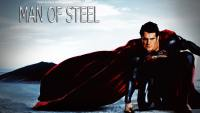 MAN OF STEEL PAINTING CARTOON