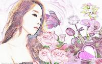♥♥ TaeYeon (Colored Pencil ver.) ♥♥