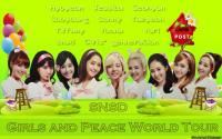 SNSD Girls and Peace