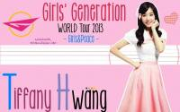 Tiffany Girls' Genertaion World Tour 2013