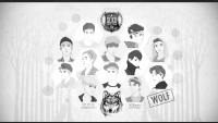 EXO WOLF ♥CARTOON VER.