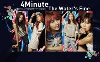 4Minute_The Water's Fine Teaser MV