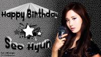 Seo Joo Hyun Birthday