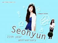21th year anniversary Seohyun