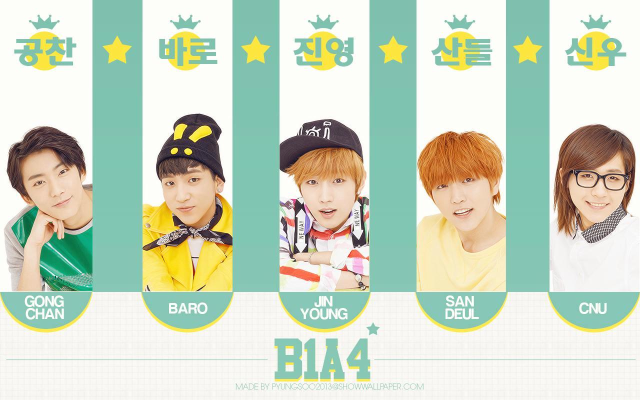 B1a4 2013 Wallpaper B1a4  B1a4 Lonely Wallpaper
