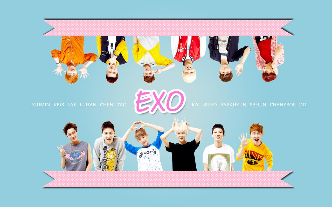 Exo Cute Background CANAZOR