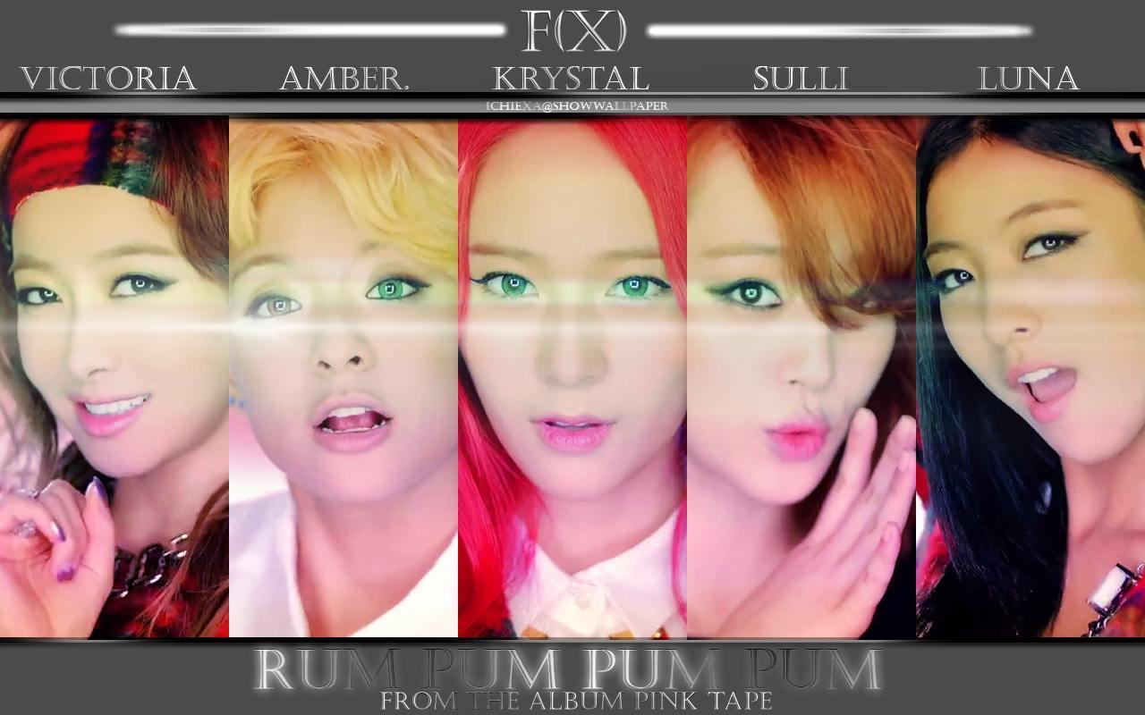 f x  - Rum Pum Pum Pum  F(x) Rum Pum Pum Pum Album Cover