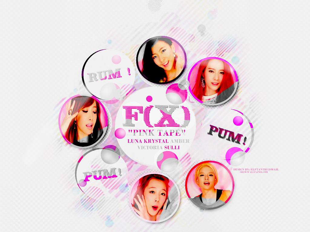 F X Rum Pum PumAlbum Pink  F(x) Pink Tape Album