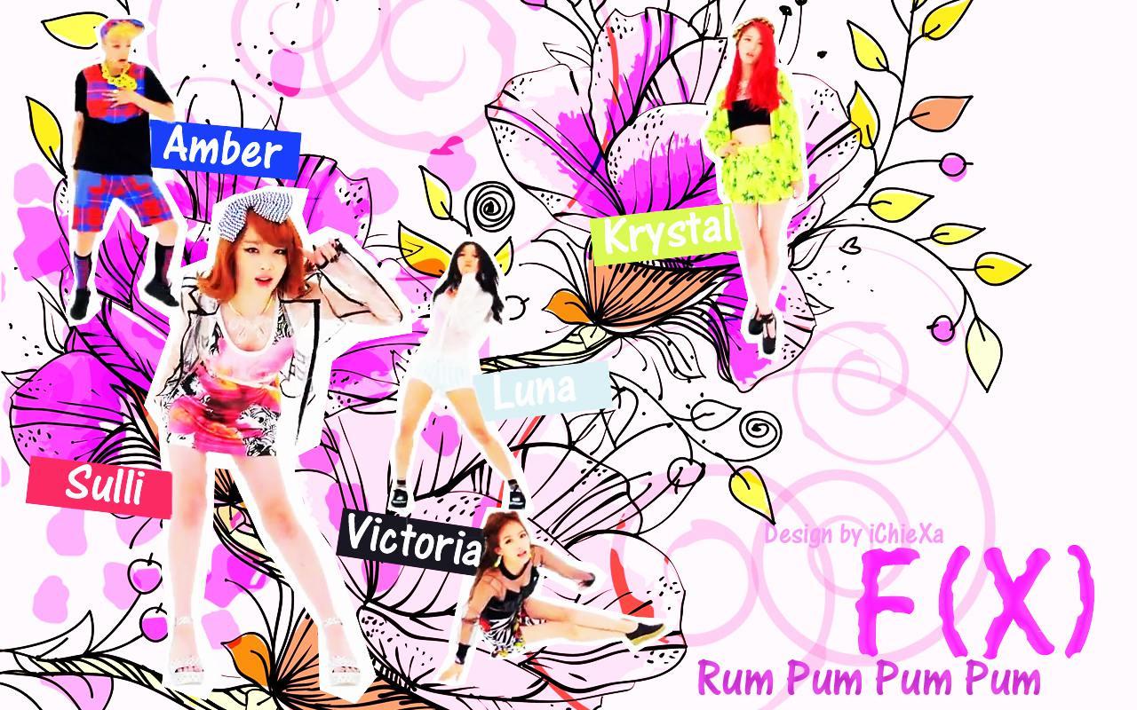 f(x) - Rum Pum Pum Pum 4 Wallpaper by ChieXa F(x) Rum Pum Pum Pum Wallpaper