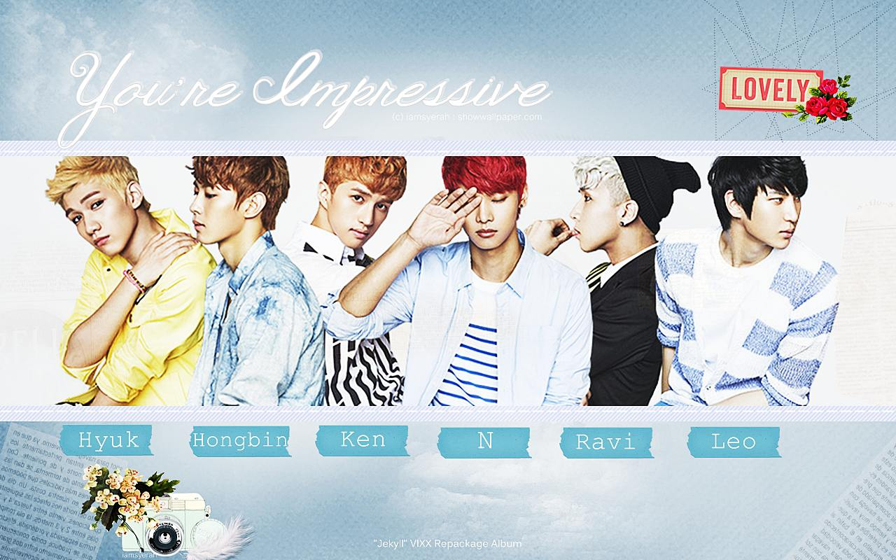 VIXX You are Impressive G R 8 U comeback Wallpaper by iamsyerahVixx Ken Gr8u