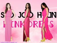 Seo Joo Hyun Pink Dress