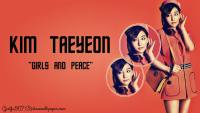 "Kim Taeyeon ""Girl's And Peace"""