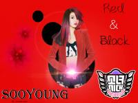 Sooyoung Red and Black