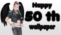 Happy 50th wallpaper ^^