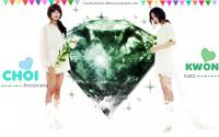 YuRi and Sooyoung Green Diamond