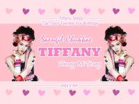 SNSD ~ Tiffany: TaeTiSeo Twinkle For Birthday