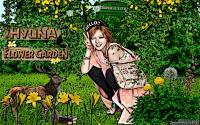 Hyuna 4Minute Flower Garden Nature