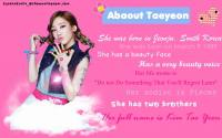~ Abaout Taeyeon ~