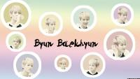 The colour of Byun Baekhyun